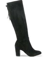 Γυναικεία Ψηλή Μπότα με Τακούνι   Κορδόνια XTI 30954 - Μαύρο 430065999a2