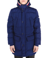 Men Tommy Hilfiger Parka Blue 81eb2779cf4