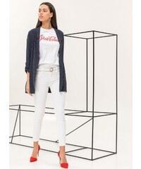 The Fashion Project Ελαφρύ σακάκι με λεπτή ρίγα - Μπλε σκούρο - 06730023001 f9bab1bac49