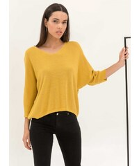 The Fashion Project Top με λεπτή πλέξη από μεταλλόνημα - Κίτρινο -  06525015001 3302eb4138d