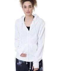 0da8c60dcec5 ΖΑΚΕΤΑ ΓΥΝΑΙΚΕΙΑ - Zip hoodie BDTK (1191-902022-WHITE) - BODYTALK