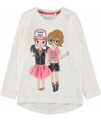 5480eb9b6c40 Παιδική μπλούζα οργανική Κορίτσια λευκή Name It