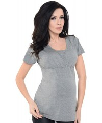 6095d3c155d3 Μπλούζα κοντομάνικη εγκυμοσύνης θηλασμού Purpless