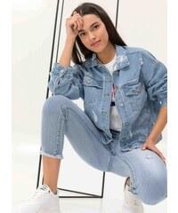 1a351e0a0df5 The Fashion Project Denim jacket με στάμπα στην πλάτη - Μπλε jean -  06773024026