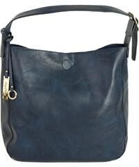 Huxley   Grace Γυναικεία μπλε τσάντα ώμου μονόχρωμη δερματίνη 2835003L ed42230b420