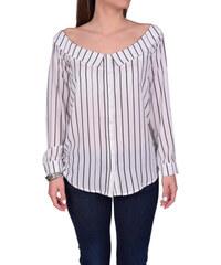 Γυναικείο βαμβακερό εμπριμέ πουκάμισο Silvian Heach (RNP18272CA) ΕΜΠΡΙΜΕ d4a0d3c460b
