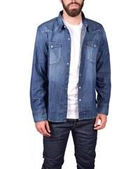 Ανδρικό βαμβακερό τζιν πουκάμισο Levi s 65816-0233 WASH 4208c15df55