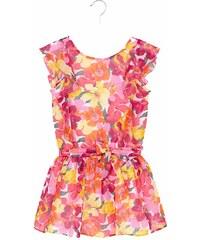 5cab2be8a63 Φορεμα γαζα λουλουδια Mayoral 29-06925 - κοραλι