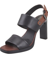 8988835650f Γυναικεία Δερμάτινα Πέδιλα Geox D92CDA 00043 C0111 Jenieve smo leather  Black Brown sandals