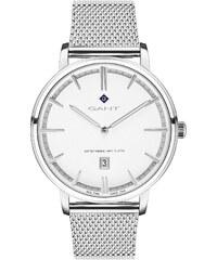 Ρολόι Gant Naples με ημερομηνία και ασημί μπρασελέ G109004 2f37a947849