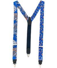 Etro paisley print braces - Blue e35b5073e25