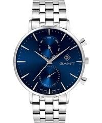 Ρολόι Gant Park Hill II με ημέρα ημερομηνία και ασημί μπρασελέ G121003 336b6f5013b