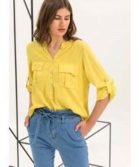 The Fashion Project Πουκαμίσα με δύο τσεπάκια - Κίτρινο - 06726015001 3dbd80417f9