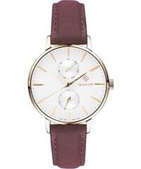 Ρολόι Gant Park Avenue με ημέρα ημερομηνία και καφέ λουράκι G128003 f2c8c6a3518
