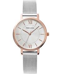 Ρολόι Pierre Lannier με ασημί μπρασελέ και λευκό καντράν 090G918 b1789ba424b