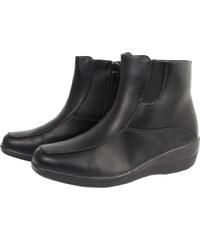 5108a55e1be Μαύρα Γυναικεία μποτάκια αστραγάλου από το κατάστημα Eshoes.gr   70 ...