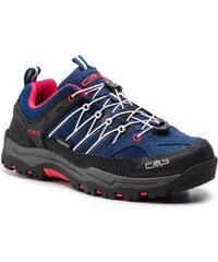 924fa021b58 Μποτάκια πεζοπορίας CMP - Kids Rigel Low Trekking Shoes Kids Wp 3Q54554J  Marine/Corallo 36MC