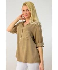 66abb1aec8a9 Potre Γυναικεία πουκαμίσα μονόχρωμη - Glami.gr