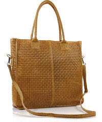 Passaggio Leather Hobo Bag Τσάντα Ώμου Από Γνήσιο Δέρμα Handmade In Italy  OEM 9837-KR 2bd6c3d110a