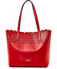 75a55b0134 Τσάντα γυναικεία Ώμου Verde 16-4977-Κόκκινο 16-4977-Κόκκινο