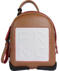 FRNC FRANCESCO Τσάντα Γυναικεία Πλάτης-Backpack 563 Ταμπά Δέρμα frnc ... 84fb8bbf5ce