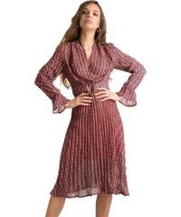 DeCoro F2012 Φόρεμα Πλισέ - ΚΟΚΚΙΝΟ - 13 00edce32402