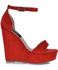 018a6a5edbe Κόκκινα Γυναικεία παπούτσια με πλατφόρμα | 210 προϊόντα σε ένα μέρος ...