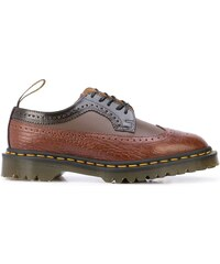 Dr. Martens two-tone panelled brogues - Brown 4588845fd85