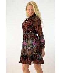 5cb488edceff Potre Γυναικείο αέρινο φόρεμα εμπριμέ
