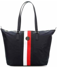 7a1bef131a Tommy Hilfiger Poppy Tote Bag Dark Blue AW0AW06864 902 Γυναικεία Τσάντα Ώμου