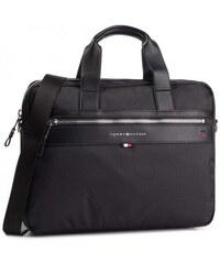 0a96d510d6c6 Tommy Hilfiger Laptop Elevated Computer Bag AM0AM02962 002 Μαύρη Ανδρική  Τσάντα Tommy Hilfiger AM0AM02962 002