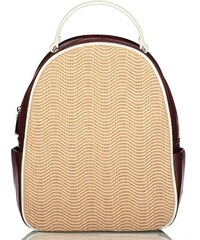 7c6db2f743 Axel Tammie backpack whit knit design 1023-0138 nude