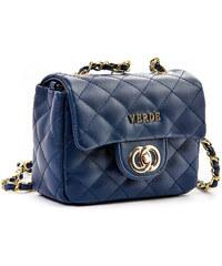 Τσάντα γυναικεία χιαστί καπιτονέ Verde 16-4986-Μπλε 16-4986-Μπλε ed2ff0f4156