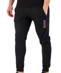 59185e389de3 Vactive TLife Ανδρικό παντελόνι φόρμας jogger με λάστιχο στο πόδι σε ...