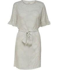 2bae5ac1b93f The Fashion Project Mini φόρεμα με πουά διαφάνεια στα μανίκια - Γκρι ...