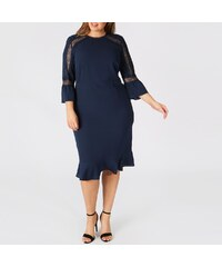 44710a4c2acc KOKO BY KOKO Φόρεμα με στρογγυλή λαιμόκοψη και μανίκια 3 4