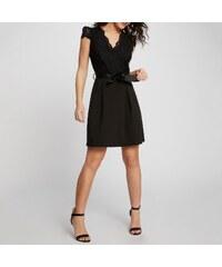 3bfed816739d MORGAN Κοντομάνικο φόρεμα με δαντέλα