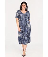 Dina XL Plus Size Midi φόρεμα με κουμπάκια. 8329f9690a1