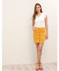 45aa75ccb91e Issue Fashion Τζιν μίνι φούστα με κουμπιά μπροστά