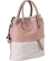 Γυναικεία τσάντα χεριού-ώμου Posset 9050 σε Nude χρώμα έως 6 άτοκες δόσεις 66da6e2ba47