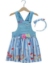 1cb75afae66 Παιδικό Φόρεμα Εβίτα 198257 Τζιν Κορίτσι