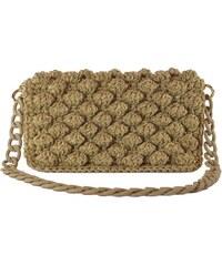 Λεπτομέρειες · Χρυσή χειροποίητη πλεκτή τσάντα ώμου μεσαία Αλκμήνη bd8ab8e08d7