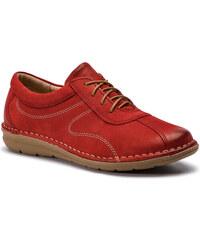Κλειστά παπούτσια LASOCKI - EPOKA-05 Κόκκινο 0eaddfad0a4