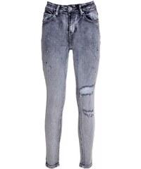 f578e45ce949 ZUIKI Ιταλικό γυναικείο γκρί ελαστικό super skinny τζιν παντελόνι