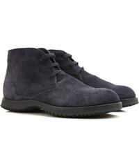 85eb2fe73f4 Hogan Desert Μπότες Chukka για Άνδρες Σε Έκπτωση Στο Outlet, Μπλε, Σουέντ  δέρμα,