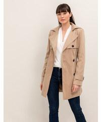Issue Fashion Κλασσική κοντή καπαρντίνα με ζώνη στη μέση 79c75b57db4