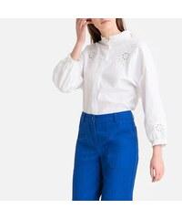 53f35077416a LA REDOUTE COLLECTIONS Μακρυμάνικο πουκάμισο με όρθιο λαιμό