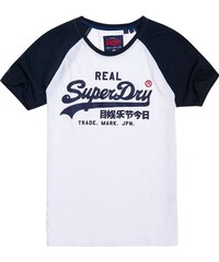 45dfb326b00b SUPERDRY RETRO MID WEIGHT TEE M10994AT-01C Λευκό - Glami.gr