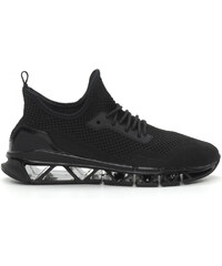 63e9a89f43 Reeca Ανδρικά μαύρα αθλητικά παπούτσια Knife ελαφρύ μοντέλο