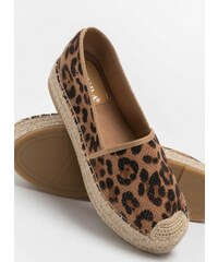 4052e9ee259 The Fashion Project Suede εσπαντρίγιες με διάτρητο σχέδιο - Leopard -  07252032002